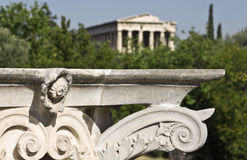 Temple of Hephaestus at Athens, Greece Royalty Free Stock Photography