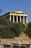 Temple of Hephaestus at Athens, Greece Royalty Free Stock Image