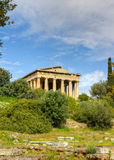 Temple of Hephaestus, Athens, Greece. HDR photo created from 3 exposures of temple of Hephaestus, the best preserved ancient Greek temple, Athens, Greece Stock Photos