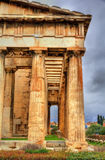 Temple of Hephaestus in Athens Royalty Free Stock Photography