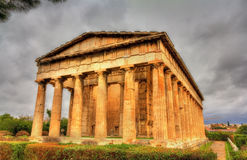 Temple of Hephaestus in Athens Stock Photography
