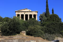 Temple of Hephaestus, Athens, Greece Stock Photography