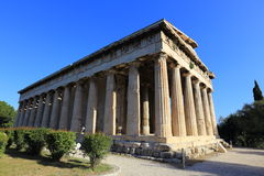 Temple of Hephaestus, Athens, Greece Stock Images