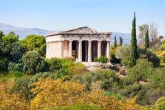 Temple of Hephaestus, Athens Royalty Free Stock Photo
