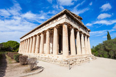 Temple of Hephaestus, Athens Stock Images
