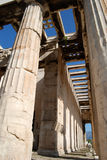Temple of Hephaestus, Athens. Old agora in Athens, Temple of Hephaestus (Hephaestion Stock Photo