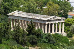 Temple of Hephaestus, Athens Royalty Free Stock Images