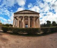 Temple of Hephaestus. Stock Image