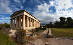 Temple of Hephaestus. Royalty Free Stock Image