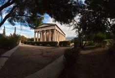 Temple of Hephaestus. Stock Photo