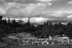 Temple of Hephaestus. Stock Photos