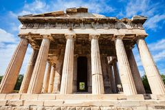 Temple of Hephaestus, Athens Stock Photo
