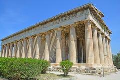 Temple of Hephaestus Royalty Free Stock Image