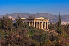 The Temple of Hephaestus in the Morning, Athens, Greece Royalty Free Stock Images