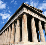 Temple Hephaisteion,Athens Stock Photos