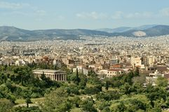 Temple of Hephaisteion, Athens Royalty Free Stock Photos