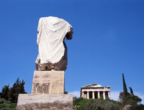 Temple Hephaisteion (Theseion). Royalty Free Stock Photography
