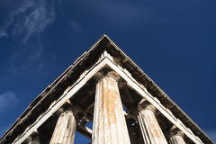 The Temple of Hephaistos Stock Photo