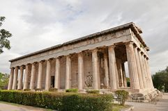 Temple of hephaistos Royalty Free Stock Photo