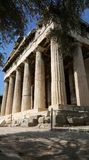 Temple of Hephaistos in Athens Stock Image
