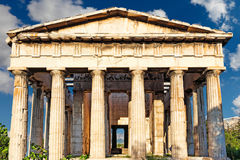 The Temple of Hephaistos, Greece Royalty Free Stock Image