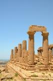 Temple of Hera. Agrigento,Temple of Hera, Sicily, Italy Royalty Free Stock Photo