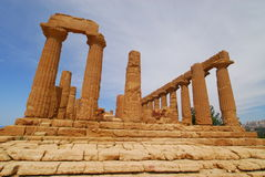 Temple of Hera. Agrigento,Temple of Hera, Sicilia,Italy Stock Images