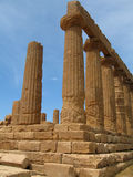 Temple of Hera. Agrigento,Sicilia, Vallley of the Temples Stock Images