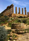 Temple of Hera Stock Photography