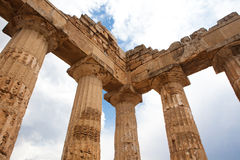 Temple of Hera Stock Photos