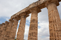 Temple of Hera Stock Photos