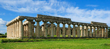 Temple of Hera Royalty Free Stock Images