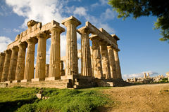 Temple of Hera, Selinunte, Sicily Stock Photos