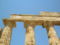 Temple of Hera in Selinunte Stock Image