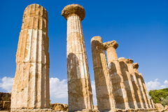 Temple of Heracles, Agrigento Stock Image