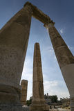 The temple of heracles in Amman Royalty Free Stock Photography
