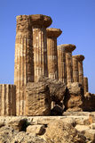 Temple of Hercules Stock Photo