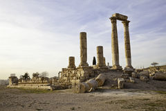 Temple of hercules Stock Images