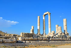 Temple of Hercules Stock Image
