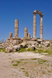 Temple of Hercules, Amman Stock Photography