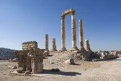 Temple of Hercules, Amman Citadel, Jordan Stock Image