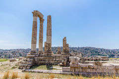 The Temple of Hercules in Amman, Jordan Stock Photography