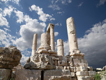 Temple of Hercules, Amman, Jordan Royalty Free Stock Photo