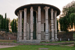 Temple of Hercules Victor Stock Photos