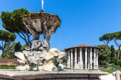 Temple of Hercules Victor Stock Images