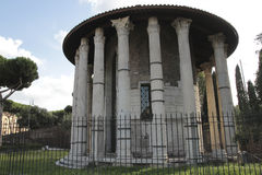 Temple of Hercules Victor, Rome Stock Image