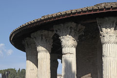 Temple of Hercules Victor, Rome Stock Images