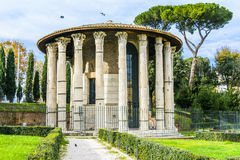 Temple of Hercules Victor in Rome Royalty Free Stock Image