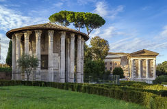 Temple of Hercules Victor, Rome Royalty Free Stock Image