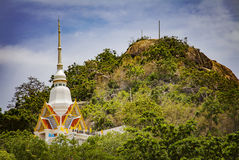 Temple in the hills Stock Photography